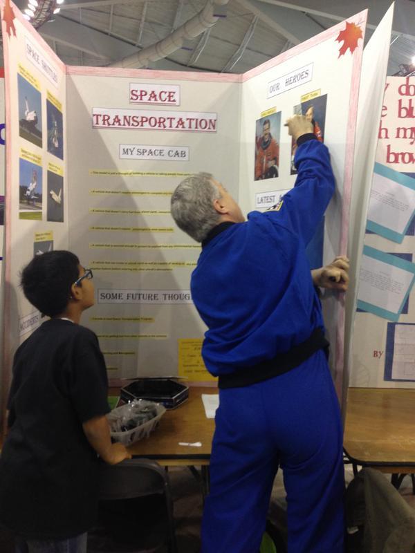 Pleasure meeting brilliant students at Calgary Youth Science Fair