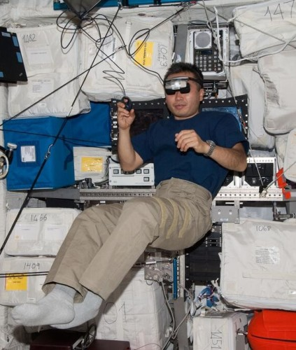 Why does depth perception change during spaceflight? I've got answers!