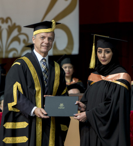 UCalgary confers 75 Bachelor of Nursing degrees and 9 Masters degrees in Doha, Qatar