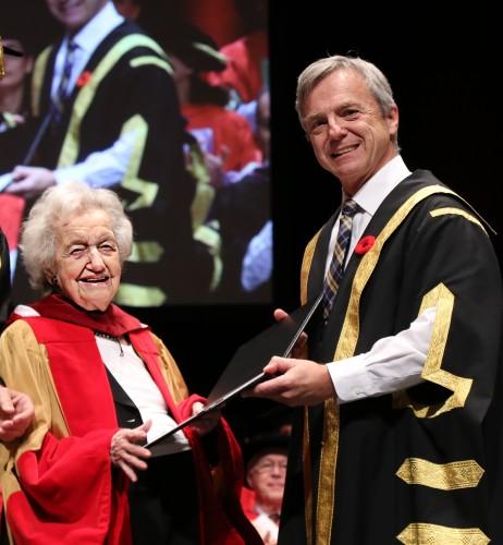 UCalgary presents honorary degree at McGill University