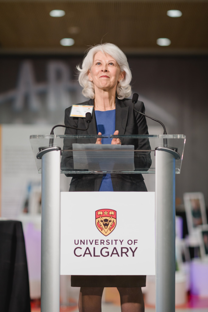 University of Calgary Board of Governors Chair Bonnie DuPont bids farewell as chair