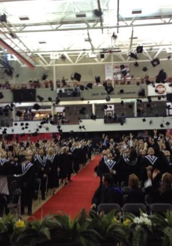 Graduation 2016 at Robert Thirsk High School