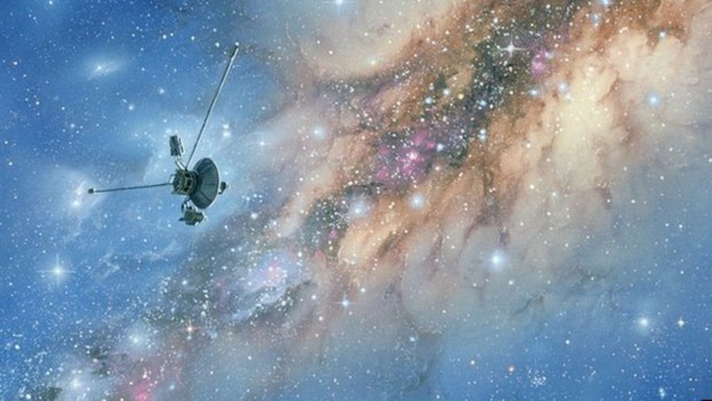 The Voyager 1 spacecraft has now left our solar system and moved into interstellar space.