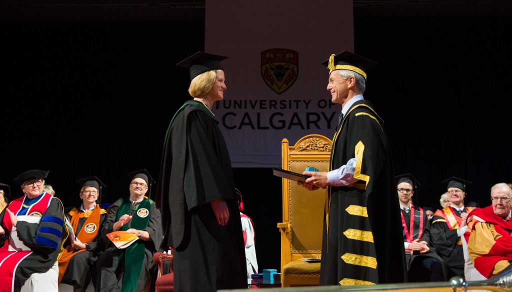 Dr. Janice Heard receives Order of the University of Calgary