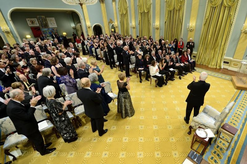 The Governor General's Literary Awards - recognizing literary excellence. Photo credit: Rideau Hall.