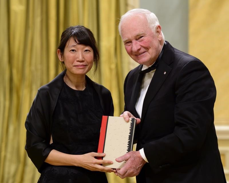 Madeleine Thien - an esteemed author, great Canadian and GGLA laureate. Photo: Rideau Hall.
