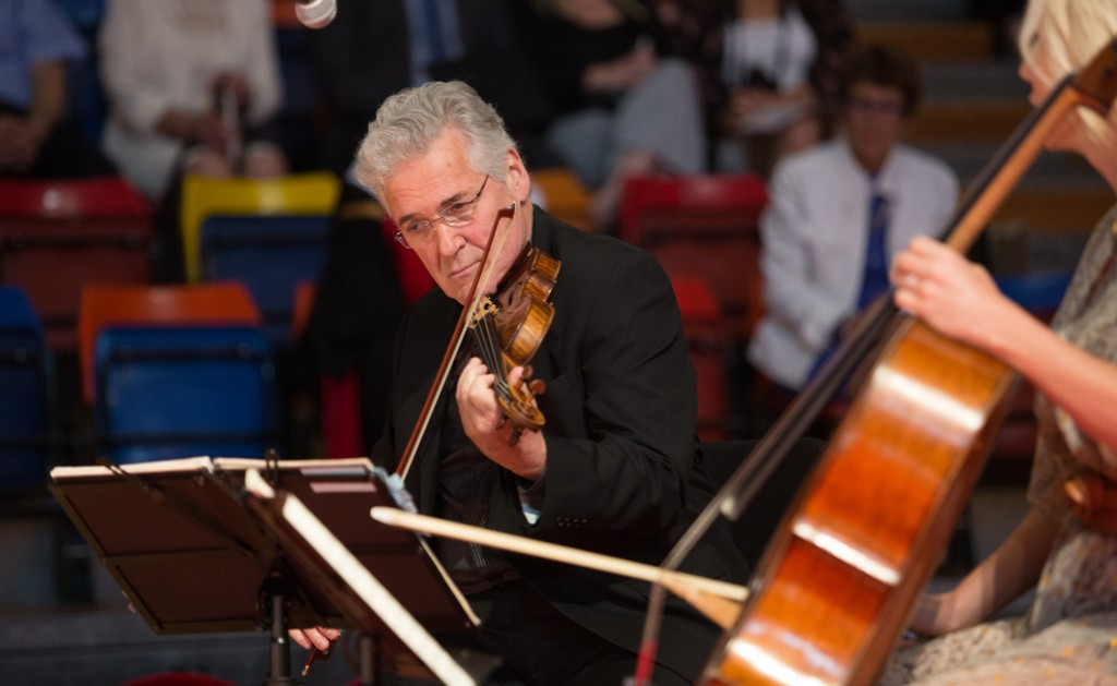 The performance by Dr. Pinchas Zukerman and his trio demonstrated the difference between good and great.
