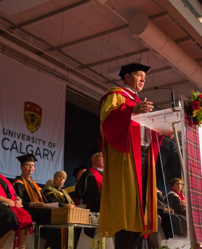 One of the best jobs: choosing and conferring honorary degree recipients