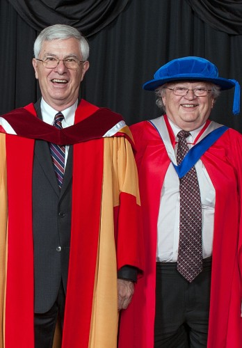Nominating Dr. Bill Pulleyblank for an honorary degree was a 'no brainer' for former colleagues and professor